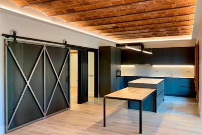 Diseño de cocina Doca Line antracita por Spai Cuines Barcelona 00 | Spai Cuines